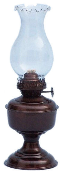 Antique Copper Table Oil Lamp 10 Vintage Oil Lamp