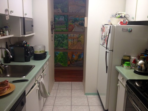 I Need Help Redesigning My Old 70 39 S Galley Kitchen In My One Bed Condo
