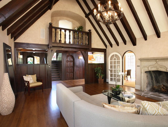 French Normandy Tudor remodel