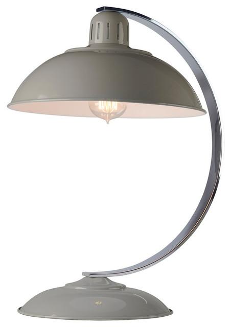 Franklin Desk Lamp, Grey