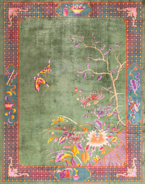 Chinese Art Deco Carpets Eclectic Rugs