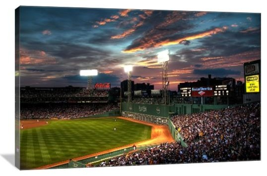 Fenway Panoramic Boston Red Sox Gallery Wrapped Canvas Wall Art .. & Unique Fenway Park Wall Art Frieze - Wall Painting Ideas ...