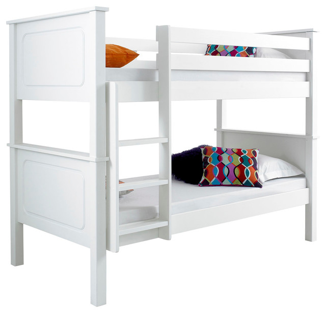 Vancouver white wooden bunk bed modern bunk beds by for Beds vancouver