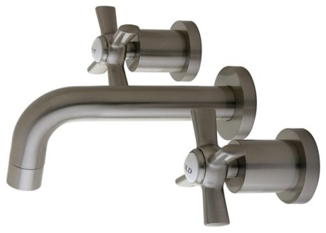 Kingston Brass Millennium Vessel Sink Faucet  Satin Nickel. Kingston Brass Millennium Vessel Sink Faucet  Polished Chrome