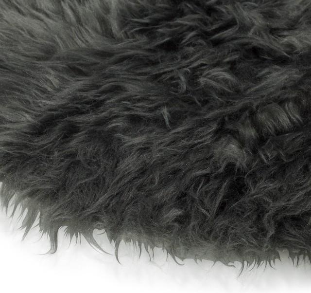 Tapis rond gris pas cher affordable tapis shaggy shaggy for Tapis noir poil long pas cher