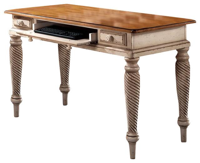 Hillsdale Furniture Wilshire Desk, Antique White - Hillsdale Furniture Wilshire Desk, Antique White - Traditional