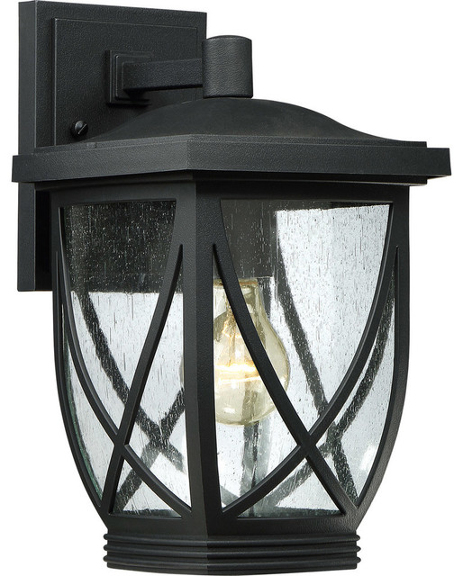 Transitional Outdoor Wall Lights : Tudor Outdoor Wall Light - Transitional - Outdoor Wall Lights And Sconces - by Lighting New York