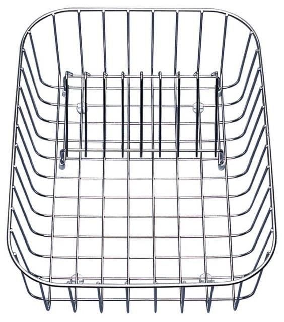 Kitchen Sink Accessories Basket blanco 507829 stainless steel crockery basket - contemporary