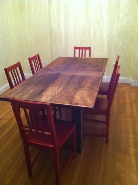 custom dining tables rustic san francisco by urban mining co