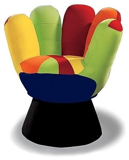 LumiSource CHR MITT3529 V Mitt Chair