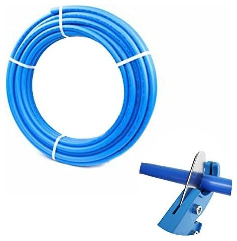 3/4 X 100-Feet Pex Tubing Blue.
