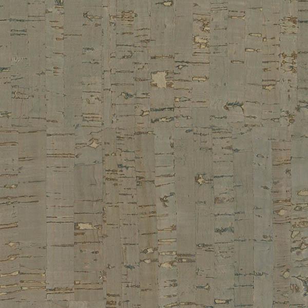 Misha Dark Gray Wall Cork Wallpaper, Bolt.