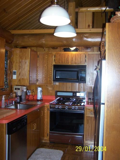 Cabin Kitchen Redo