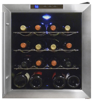 Vinotemp 16 Bottle Thermoelectric Wine Cooler Vt-16teds.