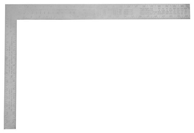 """Stanley Hand Tools 16"""" Aluminum Carpenter&x27;s Square."""
