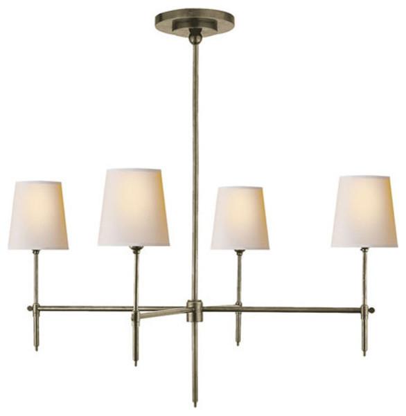 Visual Comfort Lighting Thomas Obrien Bryant 4 Light Chandelier