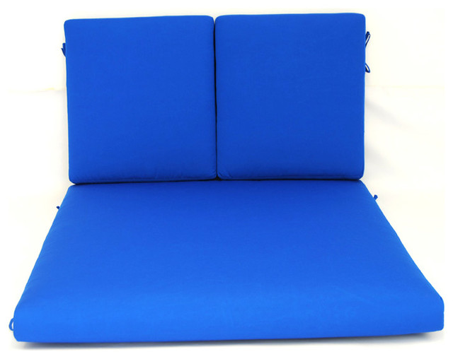 Double Chaise Cushion Width 50 Seat 50  Back 30  sc 1 st  Houzz : double chaise cushion - Sectionals, Sofas & Couches