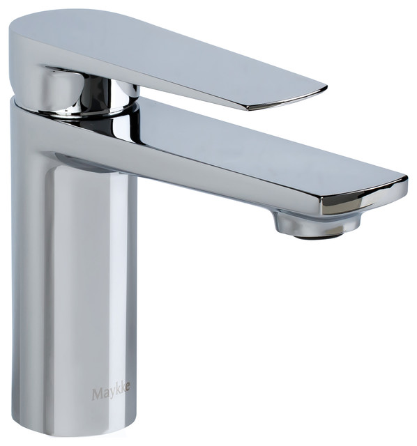 Adalbert Single Lever Faucet, Polished Chrome.