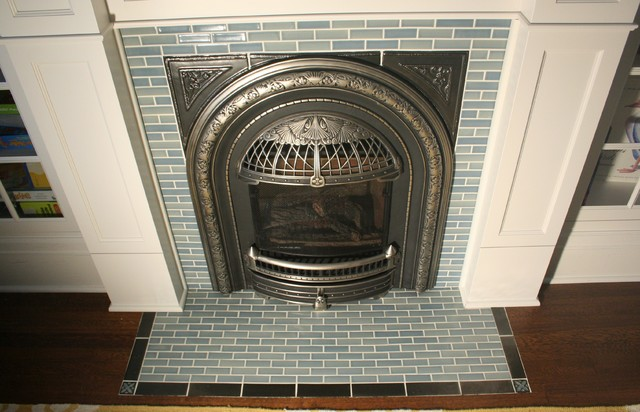 St.Paul Victorian Fireplace - Traditional - Minneapolis - by North ...