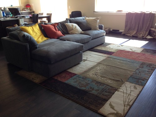 Area Rug Too Small