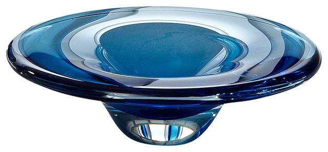 Cobalt Glass Dish
