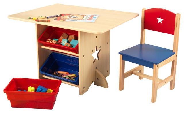KidKraft Inc Star Table and 2Chair Set Kids Tables And Chairs – Chair and Table for Kids