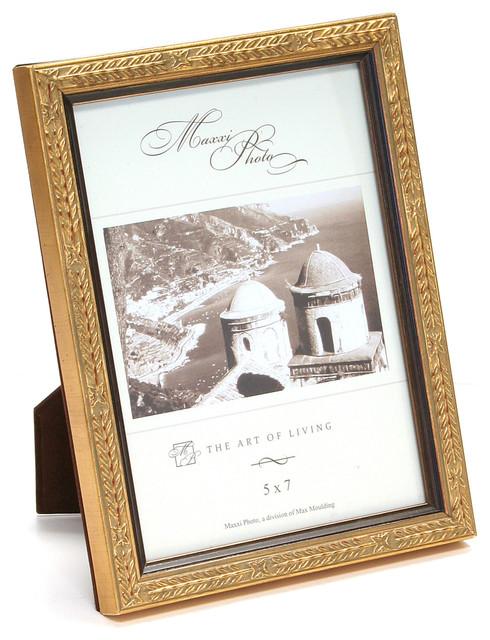 San Marco Gold Leaf Antique Frame - Traditional - Picture Frames ...
