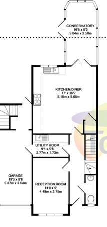 Kitchen extension for Kitchen design 5m x 6m