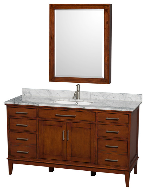 Hatton Vanity, Medicine Cabinet - Transitional - Bathroom Vanities And Sink Consoles - by Modern ...