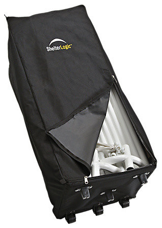 Store-It Canopy Rolling Storage Black Bag.