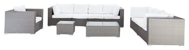 Maestro Luxury Garden Lounge Set, Grey