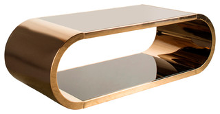 Pia Chrome Coffee Table Modern Coffee Tables By