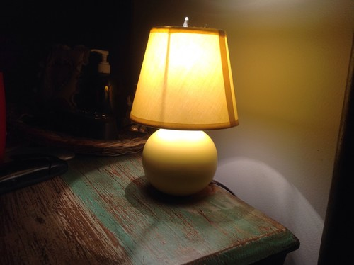 How to raise table lamps
