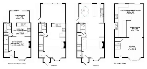 Redesigning house layout