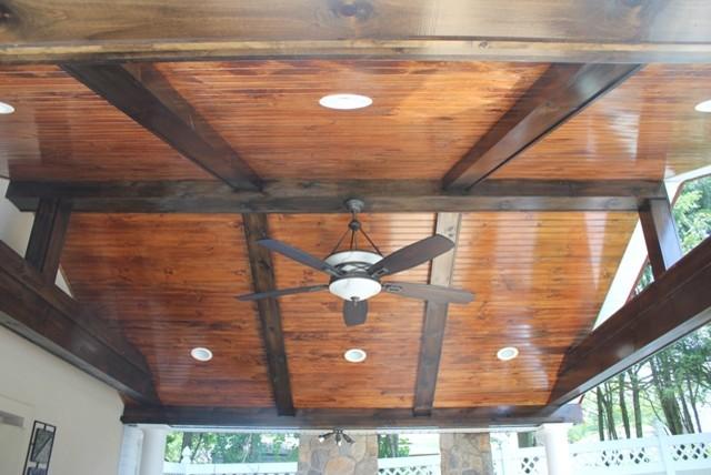 beadboard ceiling traditional - Beadboard Ceiling