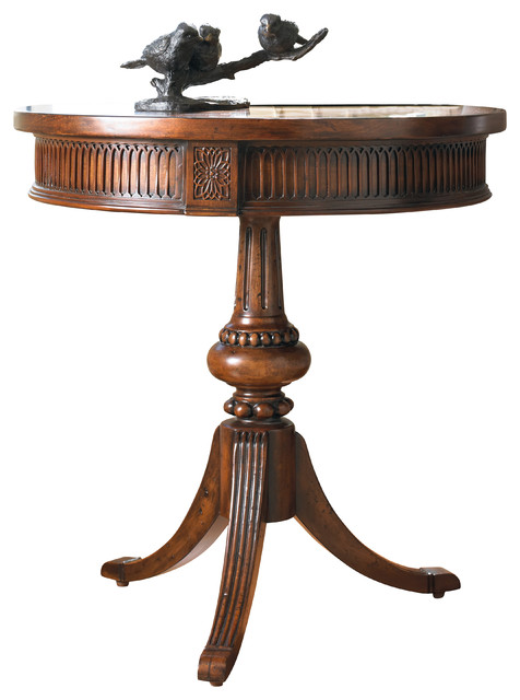 Hooker Furniture Round Pedestal Accent Table Amp Reviews