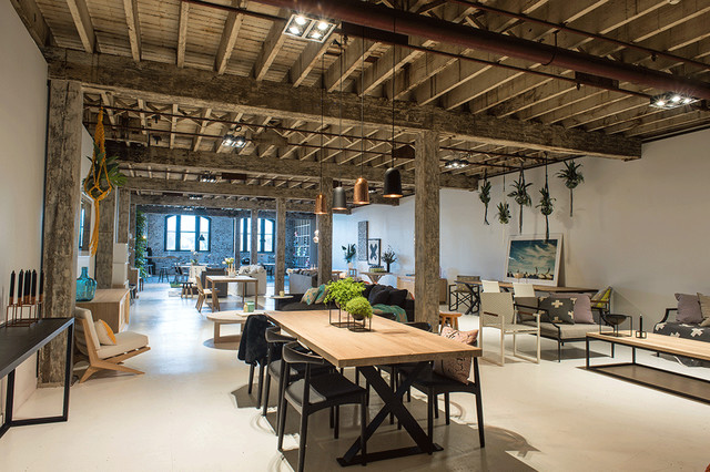 Converted Warehouse Showroom