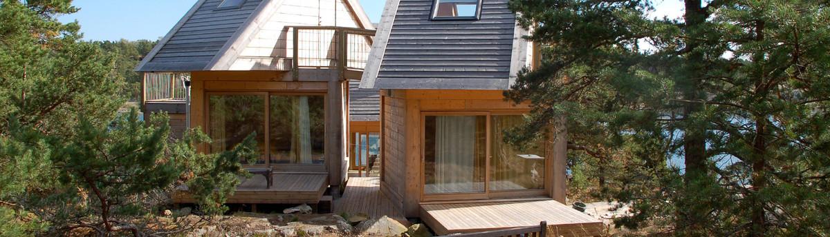 Fritidshus p furuholmen for Arkitekt design home