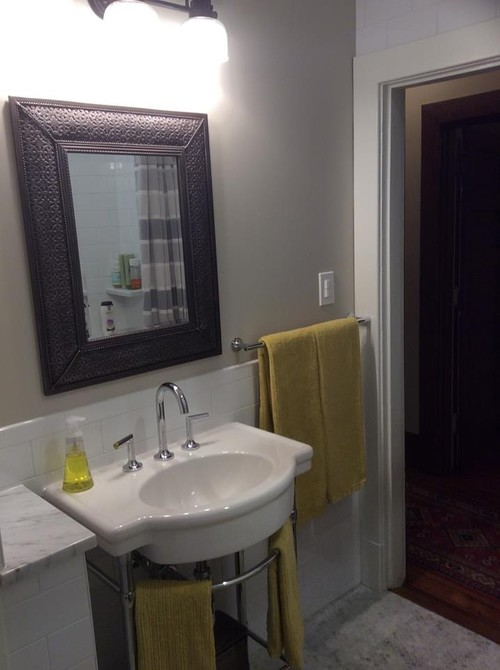 Foursquare Bathroom Remodel - 1900 bathroom remodel