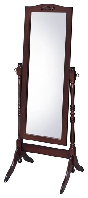 Proman Home Living Room Bedroom Decor Cheval Floor Mirror, Victoria.