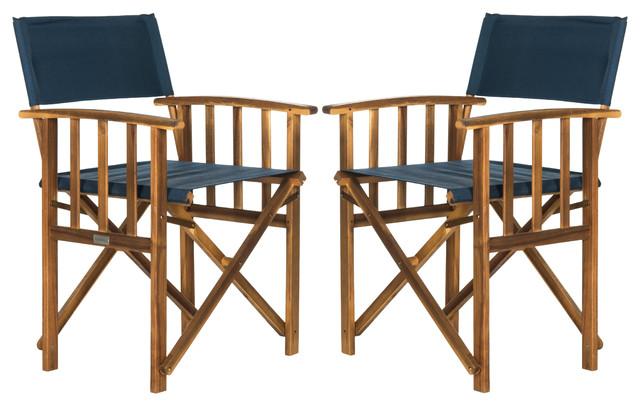 Safavieh Laguna Director Chair Set Of 2 Craftsman