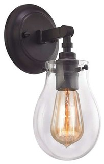 ELK 31930, 1 Jaelyn Bathroom Light, Oil Rubbed Bronze