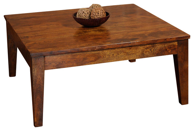 Sonoma Square Coffee Table Transitional Coffee Tables