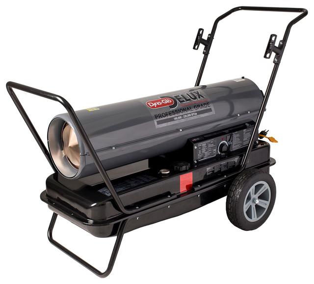Dyna-Glo Delux 180,000 Or 220,000 Btu Kerosene Forced Air Heater.