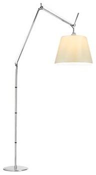 Artemide Tolomeo Mega Floor Lamp, Parchment, 17 Modern Floor Lamps