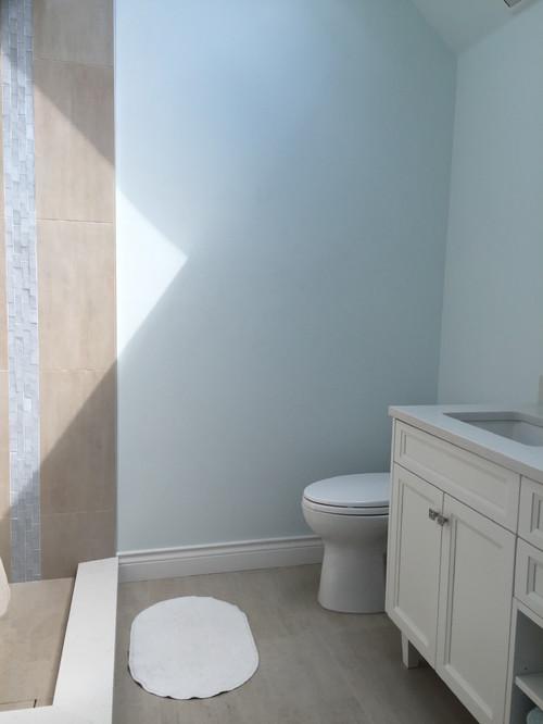 Bathroom towel bar placement?