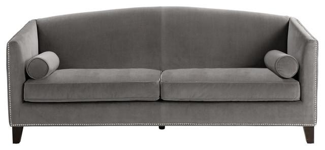 Portico Gray Fabric Sofa