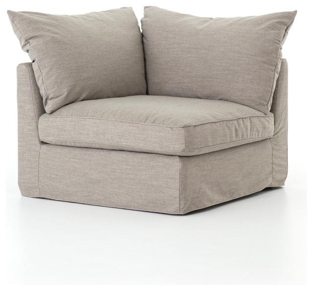 Terrific 40 L Eliot Sectional Sofa One Arm Corner Polyester Linen Savile Flannel Modern Lamtechconsult Wood Chair Design Ideas Lamtechconsultcom
