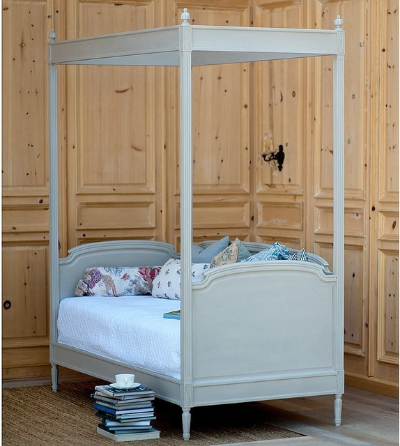 Swedish Andres Canopy Daybed traditional-canopy-beds - Swedish Andres Canopy Daybed - Traditional - Canopy Beds