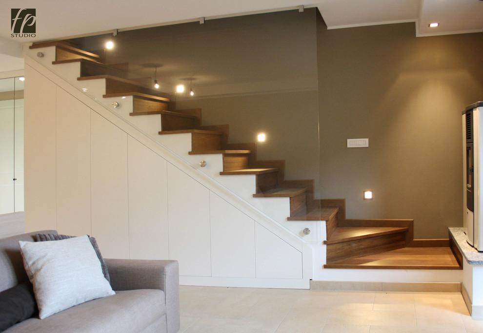 Appartamento in montagna su due livelli con recupero del sottotetto